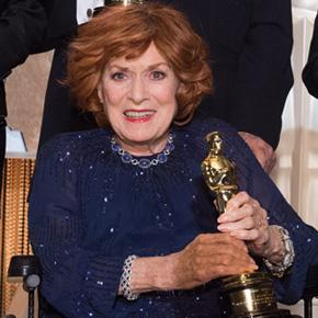 Maureen O'Hara y su Oscar honorífico de 2014