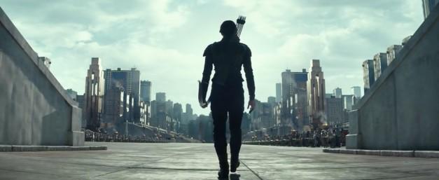 Jennifer Lawrence en Los Juegos del Hambre: Sinsajo Parte 2