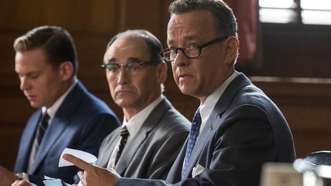 Mark Rylance y Tom Hanks en El Puente de los Espías