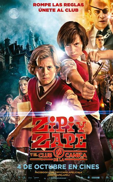 Poster de Zipi y Zape y el Club de la Canica