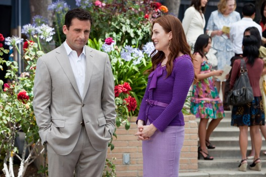 Steve Carell y Julianne Moore en Crazy, Stupid, Love