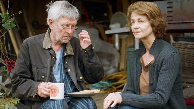 Tom Courtenay y Charlotte Rampling en 45 Años