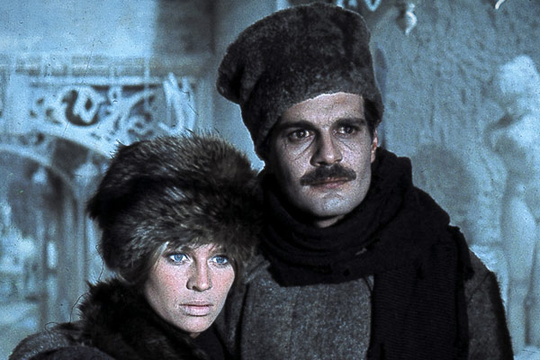 Julie Christie y Omar Sharif en Doctor Zhivago