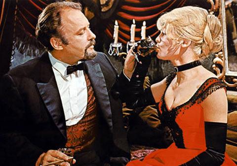 Rod Steiger y Julie Christie en Doctor Zhivago