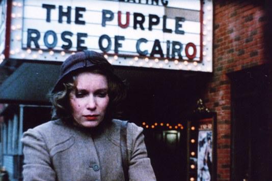 Mia Farrow en La Rosa Púrpura de El Cairo