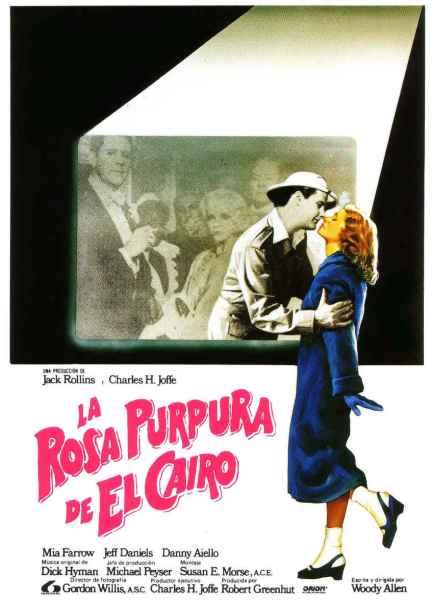 Poster de La Rosa Púrpura de El Cairo
