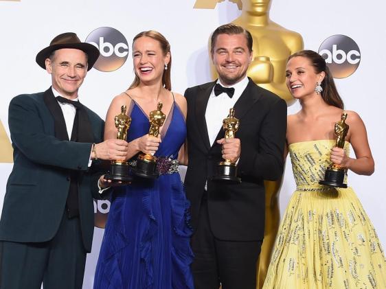 Actores ganadores de los Oscar 2016
