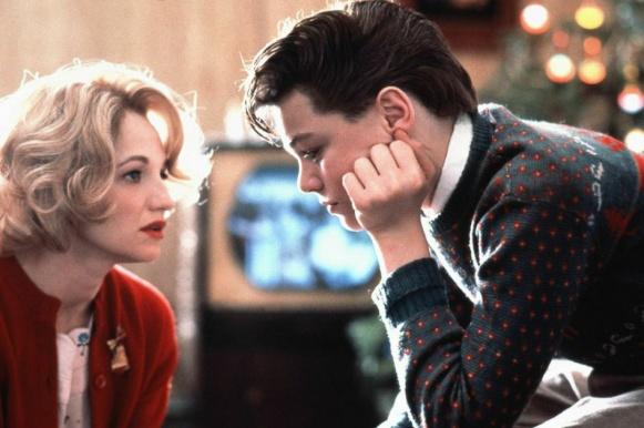 Ellen Barkin y Leonardo DiCaprio en Vida de Este Chico