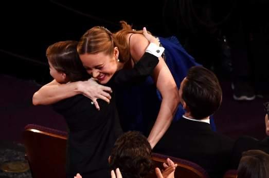 Jacob Tremblay y Brie Larson en los Oscar 2016