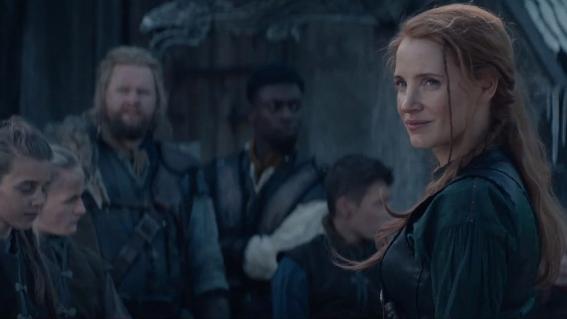 Jessica Chastain en El Cazador y la Reina del Hielo