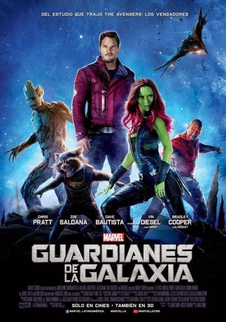Poster de Guardianes de la Galaxia
