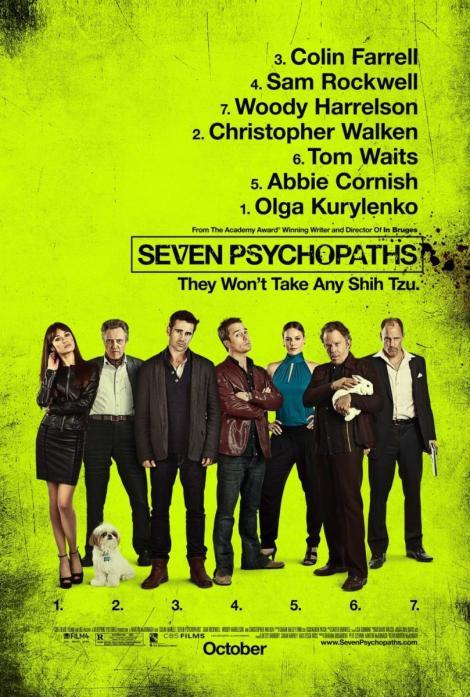 Poster de Siete Psicópatas