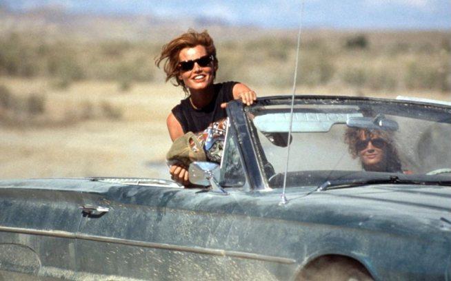 Gena Davis y Susan Sarandon en Thelma & Louise
