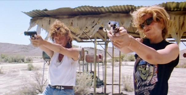 Susan Sarandon y Geena Davis en Thelma & Louise