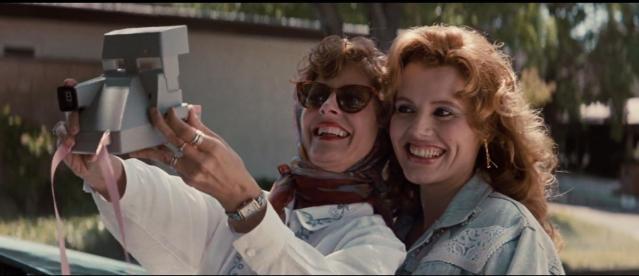 La autofoto de Thelma & Louise