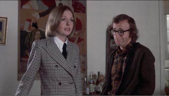 Diane Keaton y Woody Allen en Sueños de un Seductor