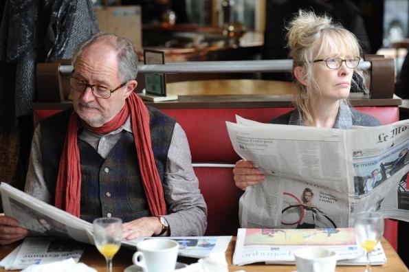 Jim Broadbent y Lindsay Duncan en Le Week-End