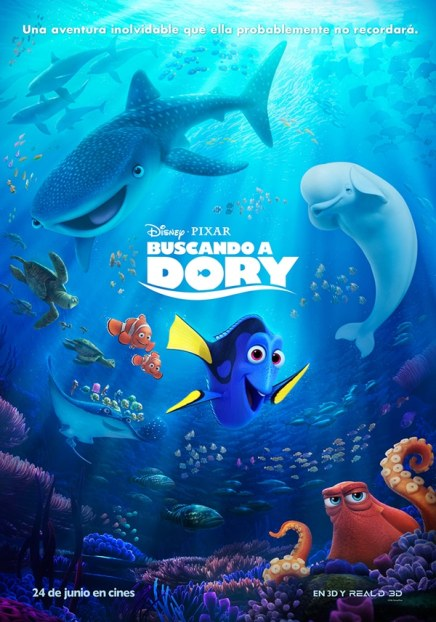 Poster de Buscando a Dory