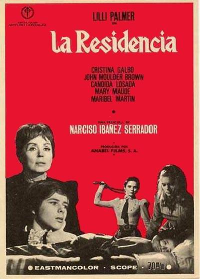 Poster de La Residencia