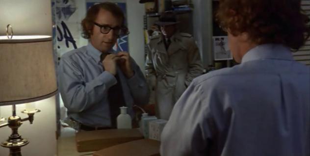 Woody Allen y Jerry Lacy en Sueños de un Seductor