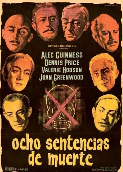 Poster de Ocho Sentencias de Muerte