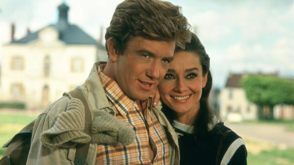 Albert Finney y Audrey Hepburn en Dos en la Carretera