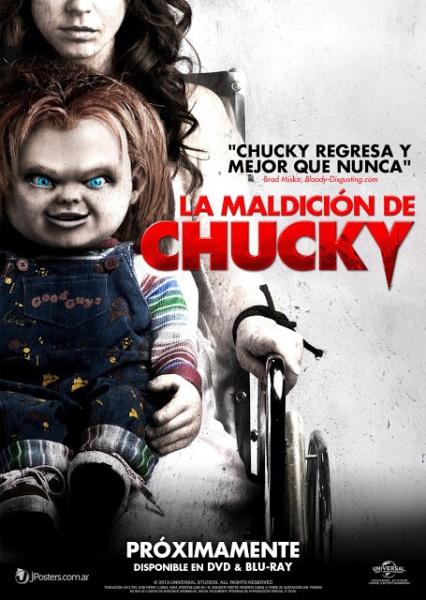 Poster de La Maldición de Chucky