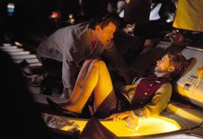 Ray Liotta y Lauren Holly en Turbulence