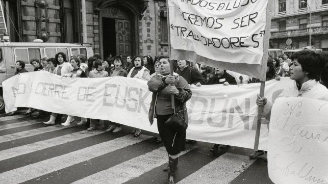 Fotograma de Nosotras Mujeres de Euskalduna