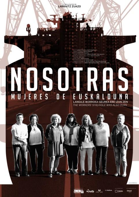 Poster Nosotras Mujeres de Euskalduna