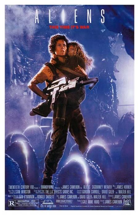 Poster de Aliens, el Regreso