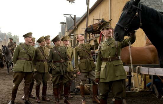 Benedict Cumberbatch y Tom Hiddleston en War Horse