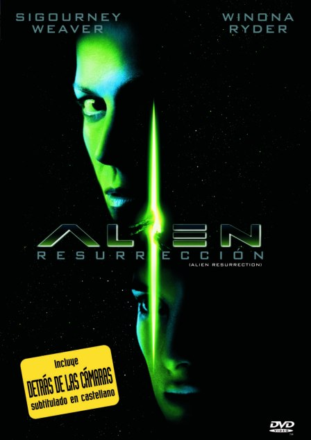 Poster de Alien Resurrección