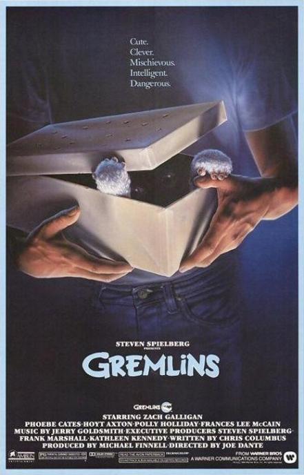 Poster de Gremlins