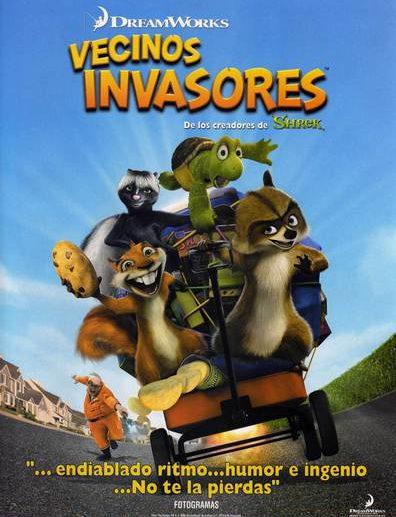 Poster de Vecinos Invasores