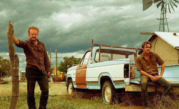 Ben Foster y Chris Pine en Comanchería