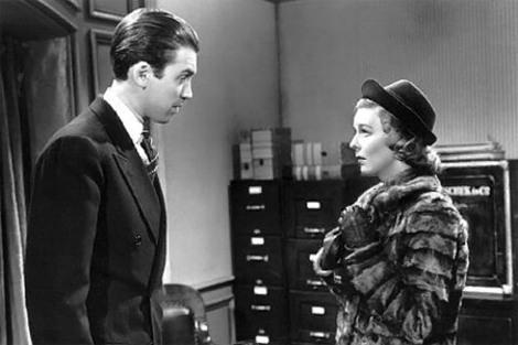 James Stewart y Margaret Sullavan en El Bazar de las Sorpresas