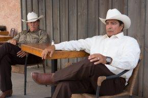 Jeff Bridges y Gil Birmingham en Comanchería