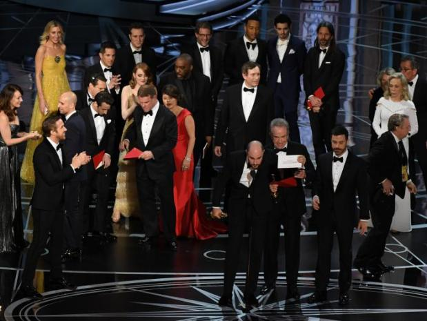 Polémica al dar el Oscar a Mejor Película, Oscars 2017