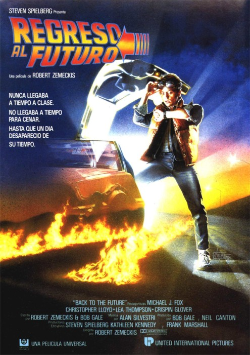 Poster de Regreso al Futuro