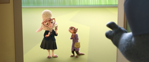 Bellwether en Zootopia