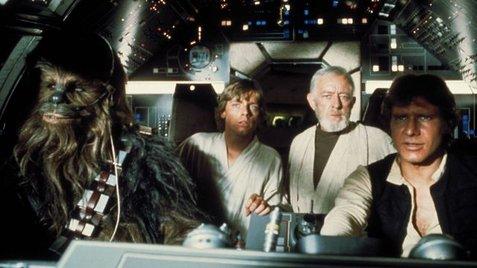 Fotograma de la Guerra de las Galaxias
