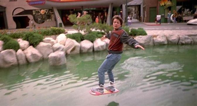 Michael J. Fox en Regreso al Futuro II
