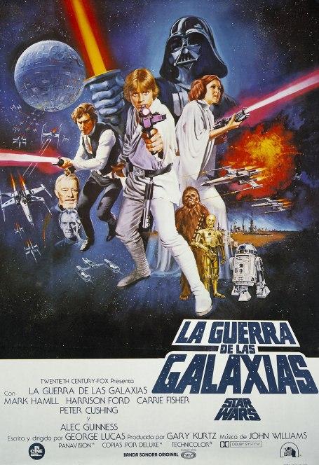 Poster de La Guerra de las Galaxias