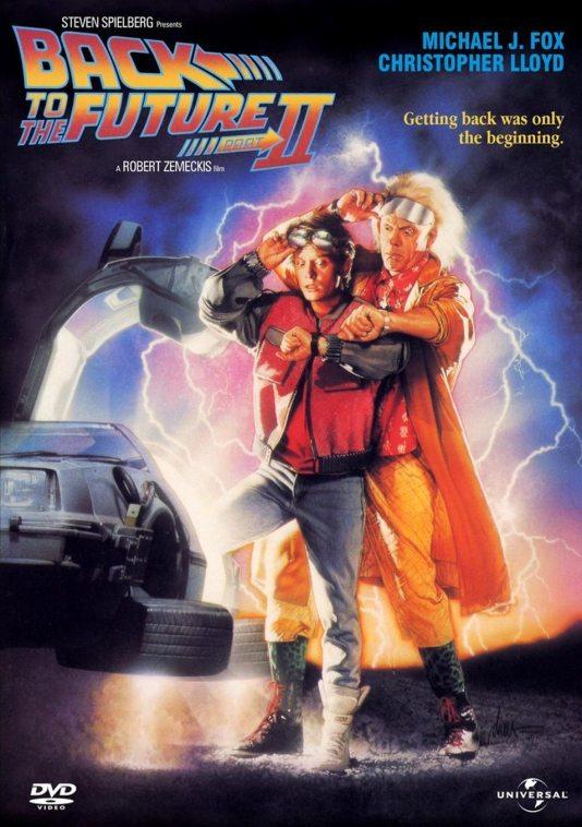 Poster de Regreso al Futuro II