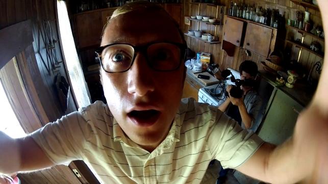 Tom Saporito y Chris O'Brien en Found Footage 3D