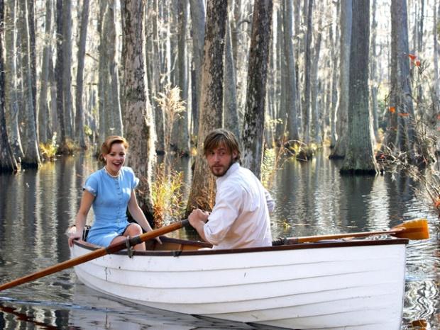 Rachel McAdams y Ryan Gosling en El Diario de Noa