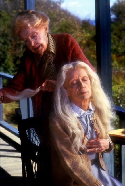 Lillian Gish y Bette Davis en Las Ballenas de Agosto