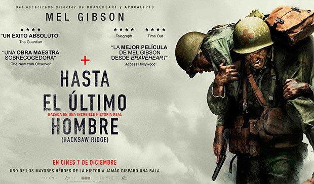 Poster de Hasta el Último Hombre