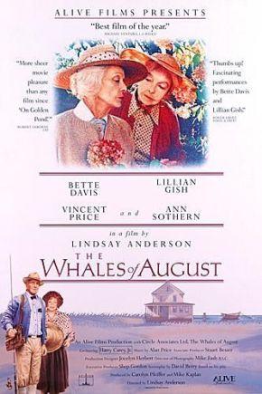 Poster de Las Ballenas de Agosto